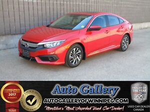 2017 Honda Civic Sedan EX *Roof/B.Cam