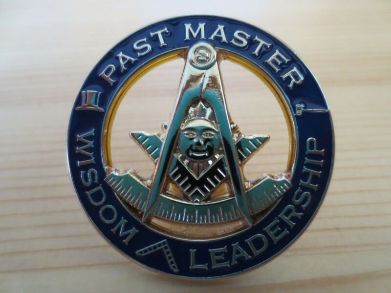 Masonic Lapel Pins Badge Mason Freemason B28 PAST MASTER WISDOM LEADERSHIP