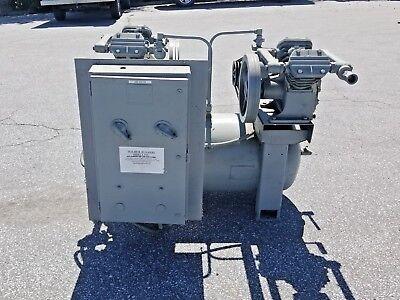 Used 10 Hp Duplex Vacuum Piston Air Compressor