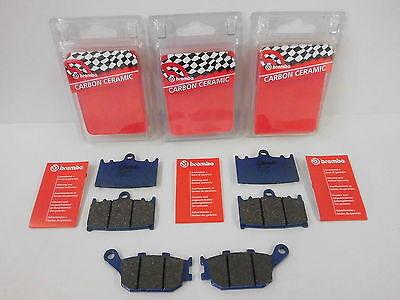 Brembo Bremsbeläge Bremsklötze vorne + hinten Suzuki GSX 650 1250 F / SV 1000 S