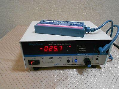 Cole-parmer Digi-sense 2186-20 Temperature Controller W 700b Adapter Excellent