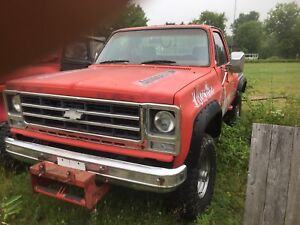Chevrolet k10 pick up 1979