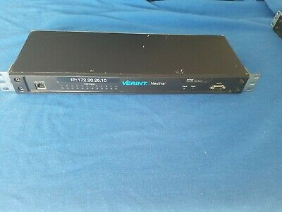 Verint Nextiva S1712e 12-port Cctv Networked Ip Video Server Encoder S1712e-t