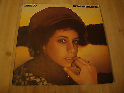 JANIS IAN-BETWEEN THE LINES [CBS] INNER SLEEVE