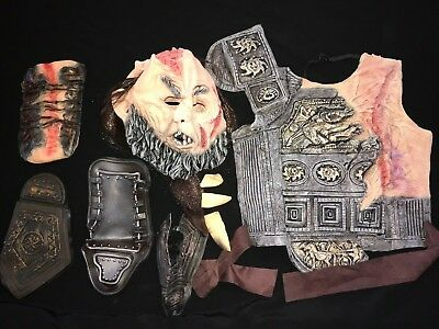 CLASH OF THE TITANS HALLOWEEN COSTUME small MASK COSTUME PIECES CALIBOS CHILD](Clash Of The Titans Costumes Halloween)
