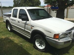 2001 Ford Courier Ute Westbury Meander Valley Preview