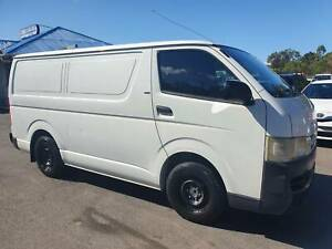 2006 Toyota Hiace LWB van - Manual - Warranty - 3 Seats --  Driveaway Birkdale Redland Area Preview