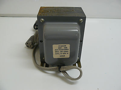 New Stancor Gsd-1500 Auto Transformer Step Down 4896b