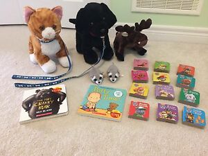 Build A Bears, Teeny Tys, Paw Patrol Books - Excellent Condition