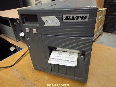 """SATO CL408E Parallel Thermo Label Drucker REWINDER 203dpi 4.1"""" 104mm - 24797.1 M"""