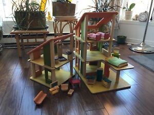 Plan toys chalet doll house