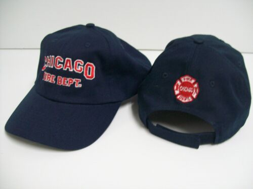 Chicago Fire Dept Cap with Maltese on Back