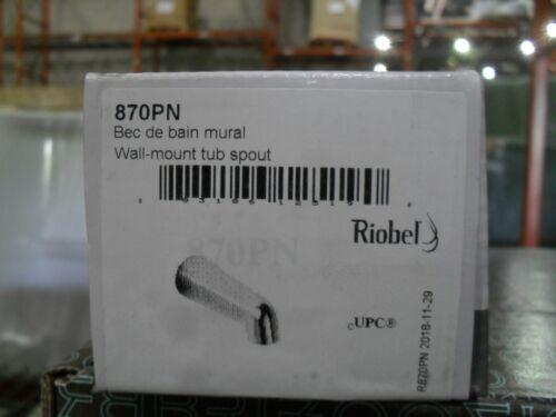 Riobel 870PN Wall mount Tub spout Polished Nickel