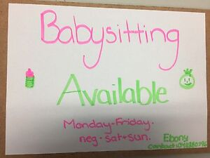 Babysitter Available Ashtonfield Maitland Area Preview