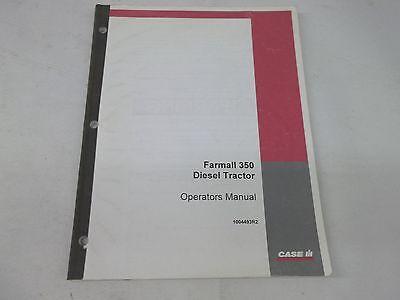 Case Ih International Harvester Farmall 350 Diesel Tractor Operators Manual