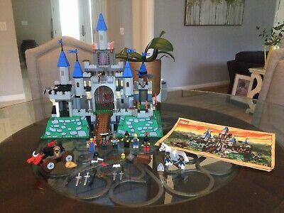 LEGO 6098 6091 Knights Kingdom KING LEO'S Castle 2000 Retired Near Complete