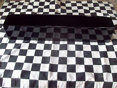 "16"" GLOSS BLACK TOOL BOX AEROSOL SPRAY CAN HOLDER snap 2 use- hang on side PAINT"