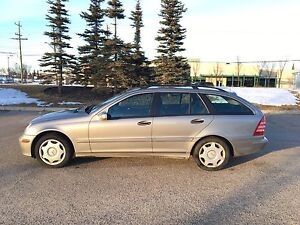 2005 MERCEDES C 240 WAGON 4MATIC PRICE IS OBO MINT