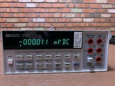 Agilenthp 34401a 6.5-digit Digital Multimeter - Works 100