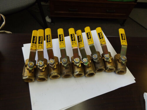 "WHOLESALE LIQUIDATION PARKER 600 WOG 1/2"" BALL VALVE LOT OF 9"