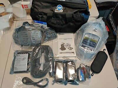 Miller Papr Respiratory Protection System W Titanium 9400i Helmet 264877