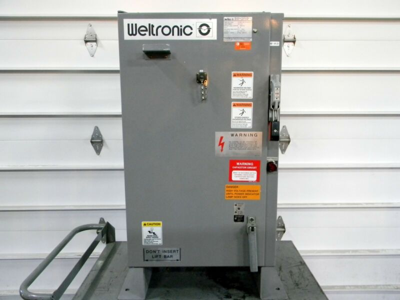 WTC Welding Technology ABB GH5-15100 Power Supply Weld Control 480 VAC CU02-B11A
