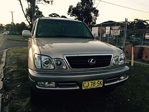 2000 LEXUS LX470 4X4 V8-8 SEATER/SWAP/SALE Chester Hill Bankstown Area Preview