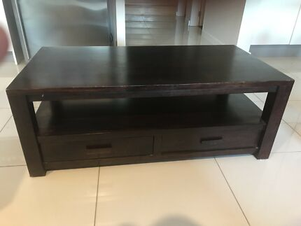 Coffee Table And Matching Side