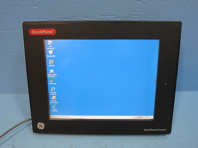 Ge Ic754csl12ctd-hj Quickpanel Touch Screen Operator Interface Display Hmi Panel