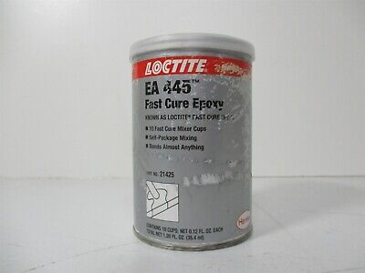 Loctite 209717 Epoxy Adhesive For Use On Glass. Metal Rubber 1.20 Fl. Oz.