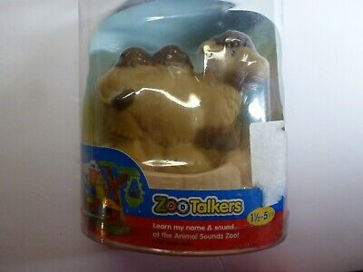 Fisher Price Little People Zoo Talkers Brown Camel Figure New