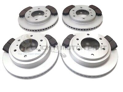 FRONT & REAR BRAKE DISCS (CHECK SIZES) AND PADS FOR MITSUBISHI SHOGUN 3.2 07-15
