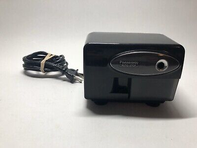 Panasonic Electric Pencil Sharpener Model Kp-310 Auto-stop Black - Tested