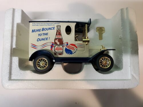"PEPSI COLA ""MORE BOUNCE TO THE OUNCE"" DIECAST BANK"