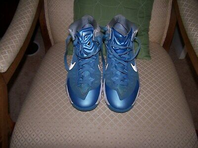 b66027c0440e Men s Nike Zoom Hyper Quickness Blue Athletic Shoes Size 11.5