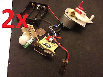 2x Mechanical Relay Timer Motion Sensor Moduel 555 Light Movement Gear Motor C11