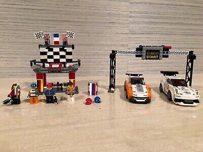 Lego (set number 75912) Porsche 911 GT Finish Line Unboxed Retired Set