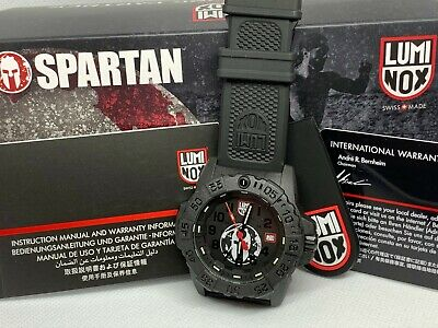 Brand New Luminox Spartan Race Edition Black Dial XS.3501 Men's Watch