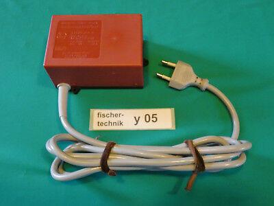 fischertechnik * Elektro * Netzteil * Netzgerät * 8 VDC/1.5A * y05 * von BÜHLER