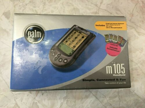 Palm M105 New and Sealed in Box PDA Handheld Calendar Email