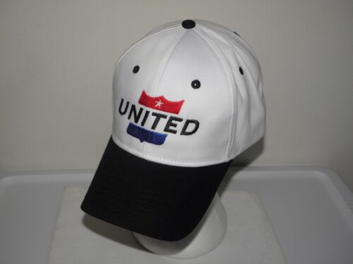 UNITED AIRLINES BASEBALL CAP AIRPLANE CONTINENTAL PILOT CHRISTMAS / FATHERS DAY