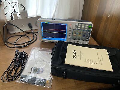 Owon Sds6062-v 60 Mhz 2 Ch 8 Lcd Smart Digital Storage Oscilloscope Battery