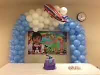 Decorations for birthday parties