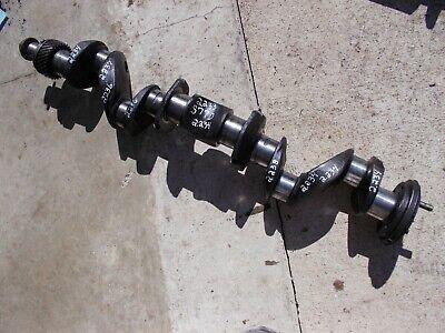 Oliver Super 77 Diesel Tractor 77d Engine Motor Crankshaft W Drive Gear Crank