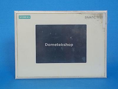Siemens 6av3627-1nk00-0ax0 Hmi Touch Panel Tp27 Mono