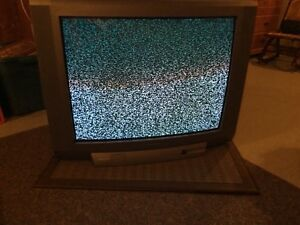 Toshiba tube tv, works great, 35in