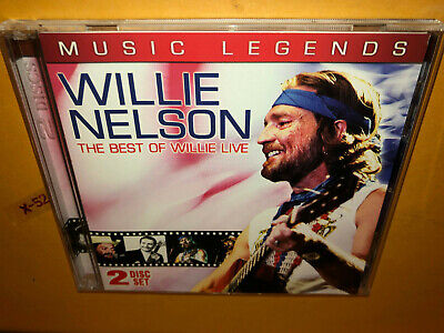 Best of Willie Nelson CD + DVD Live hits Blue skies Georgia on my mind (Willie Nelson Best Hits)