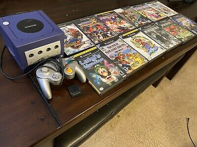 Nintendo GameCube Lot! Very Good CIB Rare Games With Console! Please Read!