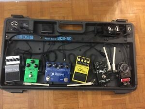 Boss Pedal Board / Assorted Pedals