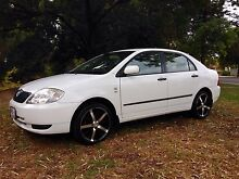 TOYOTA COROLLA AUTOMATIC WITH LOW LOW KILOMETRES Adelaide CBD Adelaide City Preview